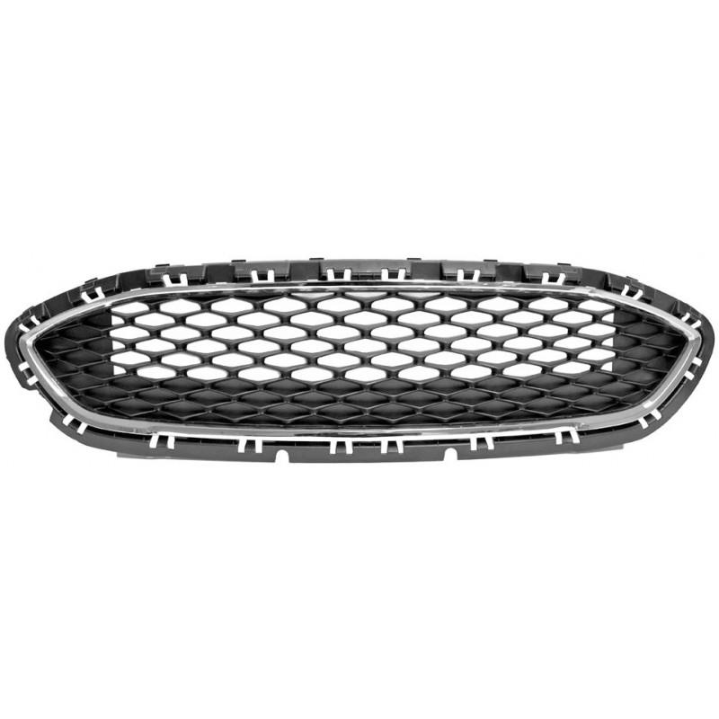 Griglia centrale paraurti anteriore per ford ecosport 2013 in poi cromature
