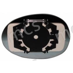 Piastra con specchio curvo SX/DX