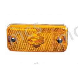 Fanale laterale arancio connettore rettangolare SX/DX