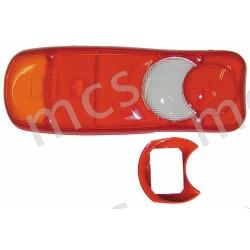 Trasparente posteriore con catadiottro SX/DX
