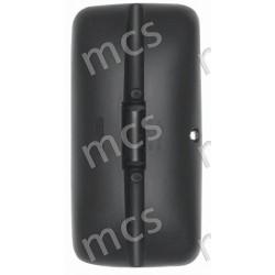 Coppa nera con morsetto specchio curvo 380x185 SX/DX