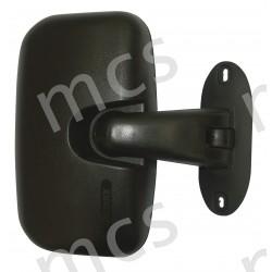 Retrovisore manuale nero specchio ampioraggio guardaruota R300 290x170 SX/DX