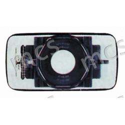 Piastra con specchio curvo azzurrato termico SX