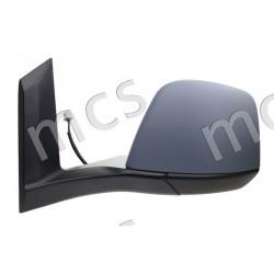Retrovisore manuale da verniciare specchio curvo SX