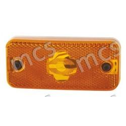 Fanale laterale arancio connettore ovale connettore ovale SX/DX