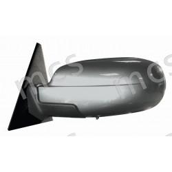 Retrovisore elettrico da verniciare ripiegabile elettricamente, con sensore temperatura specchio asferico azzurrato termico SX