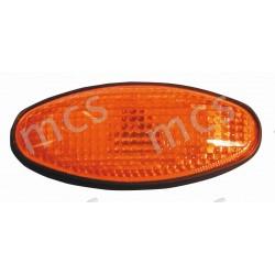 Gruppo ottico fanale laterale arancio SX/DX