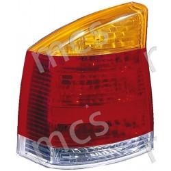 Gruppo ottico fanale posteriore arancio DX