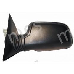Retrovisore elettrico nero specchio curvo termico SX