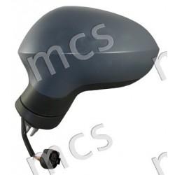Retrovisore elettrico nero specchio curvo 3 pin SX