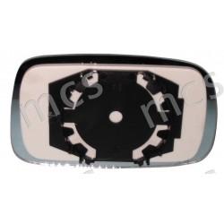 Piastra con specchio curvo SX
