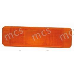 Trasparente fanale anteriore arancio SX/DX