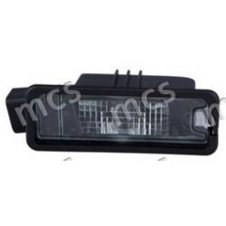 Fanale luce targa SX/DX