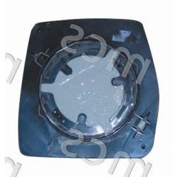 Piastra con specchio curvo versione manuale DX