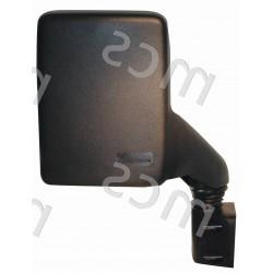 Retrovisore manuale nero specchio curvo 195x150 DX