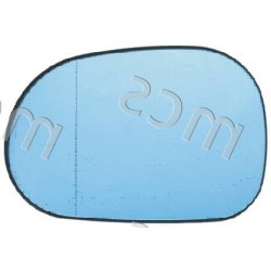 Piastra con specchio asferico azzurrato termico DX
