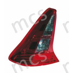 Gruppo ottico fanale posteriore rosé SX