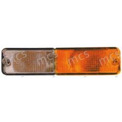 Fanale anteriore bianco-arancio SX