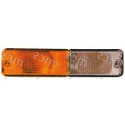 Fanale anteriore bianco-arancio DX