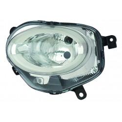 Proiettore luce giorno (H7-Led) regolazione manuale Tipo AL SX