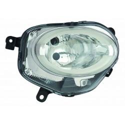 Proiettore luce giorno (H7-Led) regolazione manuale Tipo AL DX