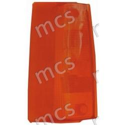 Trasparente fanale anteriore arancio SX