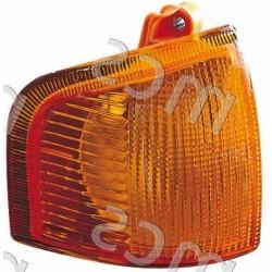 Gruppo ottico fanale anteriore arancio DX