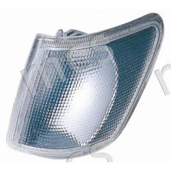 Gruppo ottico fanale anteriore bianco SX