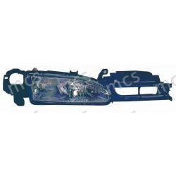 Proiettore (H1-H1) regolazione manuale/elettrica SX