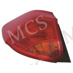Gruppo ottico fanale posteriore SX (Hatchback)