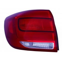 Gruppo ottico fanale posteriore esterno tipo Mobis SX (2014>2015)