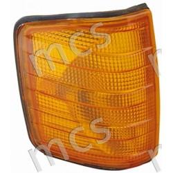 Fanale anteriore arancio SX