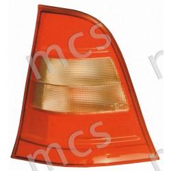 Gruppo ottico fanale posteriore plastica bianca SX (Elegance)