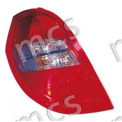 Gruppo ottico fanale posteriore fumé SX