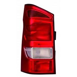 Gruppo ottico fanale posteriore tipo Hella SX
