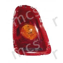 Fanale posteriore con fanale arancio SX