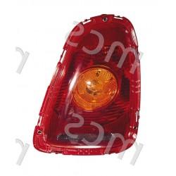 Fanale posteriore con fanale arancio DX