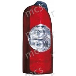 Gruppo ottico fanale posteriore 4 lamp. SX (>2005)
