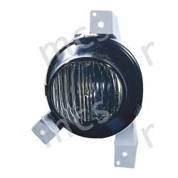 Proiettore fendinebbia (H3) incolore SX