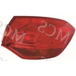 Gruppo ottico fanale posteriore esterno DX SW