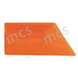 Gruppo ottico fanale laterale arancio SX