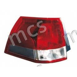 Gruppo ottico fanale posteriore bianco-rosso SX