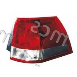 Gruppo ottico fanale posteriore bianco-rosso DX