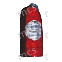 Gruppo ottico fanale posteriore 2 lamp. SX