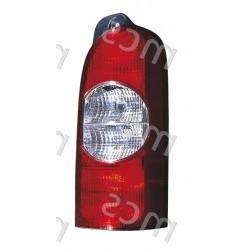 Gruppo ottico fanale posteriore 2 lamp. DX