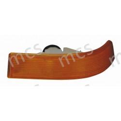 Gruppo ottico fanale anteriore arancio SX