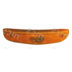 Trasparente fanale anteriore arancio DX