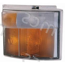 Gruppo ottico fanale anteriore bianco-arancio DX