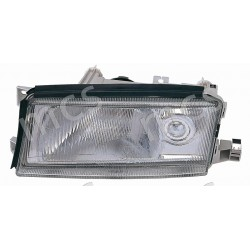 Proiettore (H4-H3) regolazione manuale/elettrica con fendinebbia SX