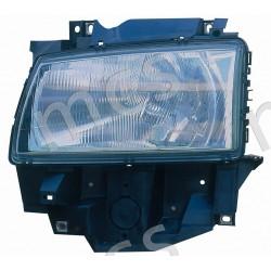 Proiettore (H4) regolazione manuale/elettrica SX